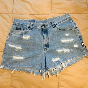 Disney Jean Shorts by Riders Size 12